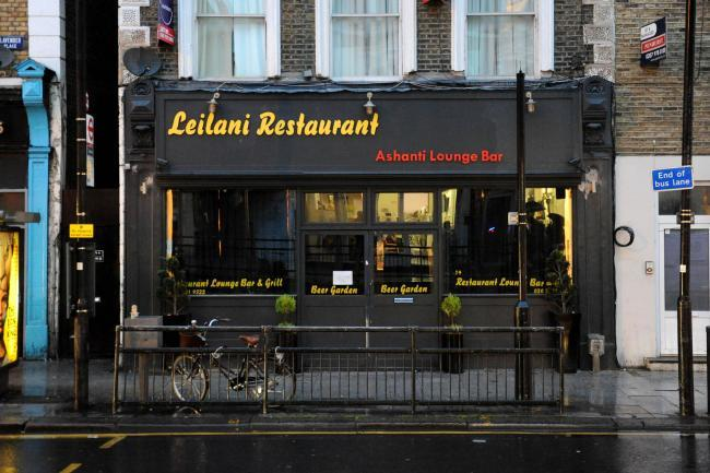 Leilani Restaurant in Battersea had their licence suspended  in 2014 after man bashed over the head