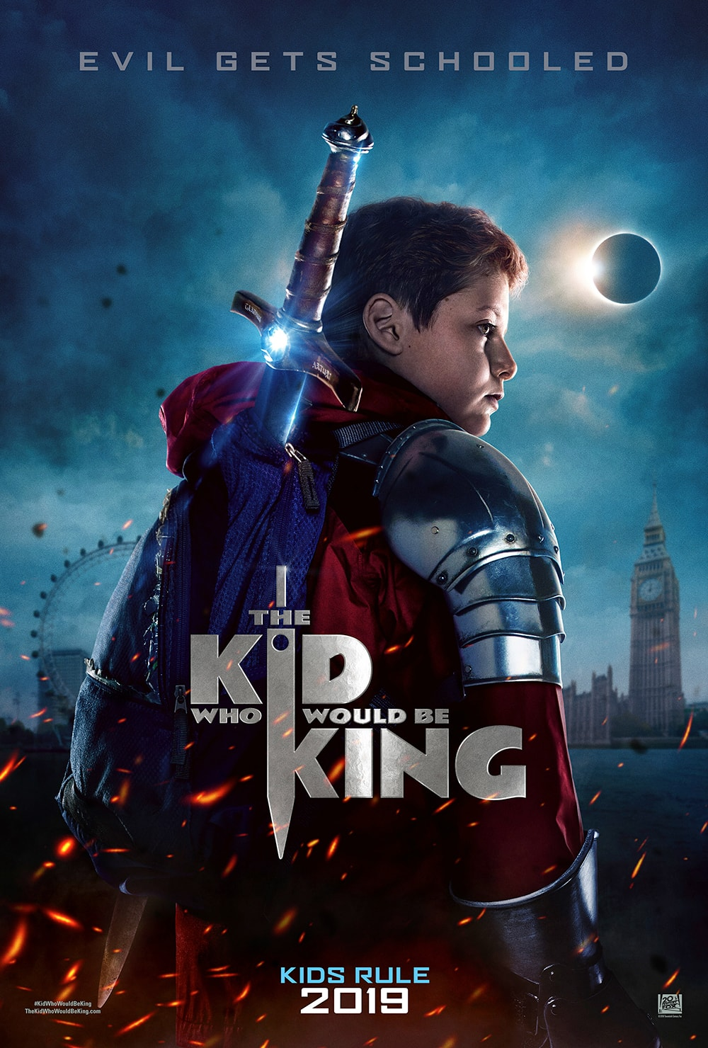The Kid Who Would Be King (PG)