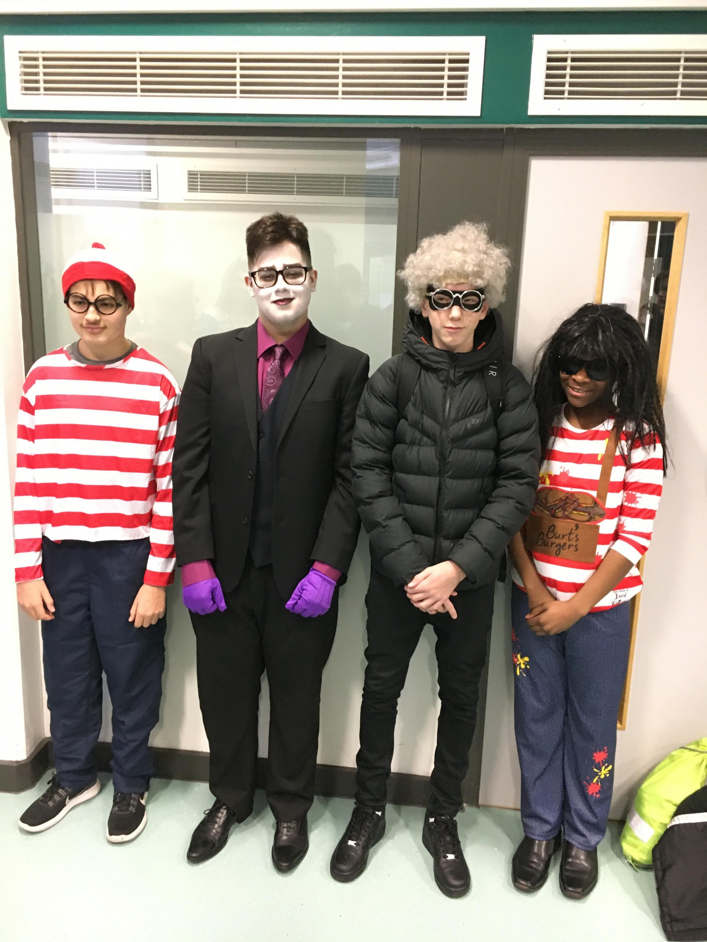 Students and teachers at Twickenham School donned their best outfits on World Book Day. © Tom Barnes.