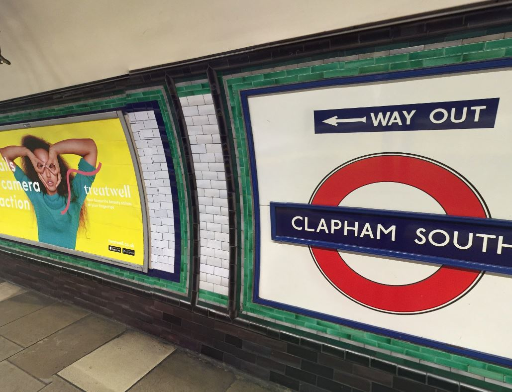 Clapham South tube station. Photo: Google Maps