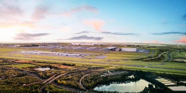 Campaigners trying to block Heathrow expansion will find out if their High Court challenge against controversial plans for a third runway has succeeded. Picture: Heathrow Airport/PA Wire