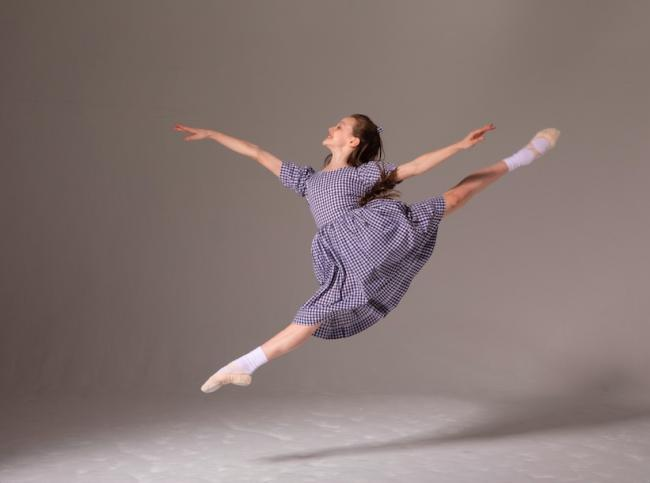 Five Wandsworth children have won places with London Children's Ballet. Picture: Eric Richmond